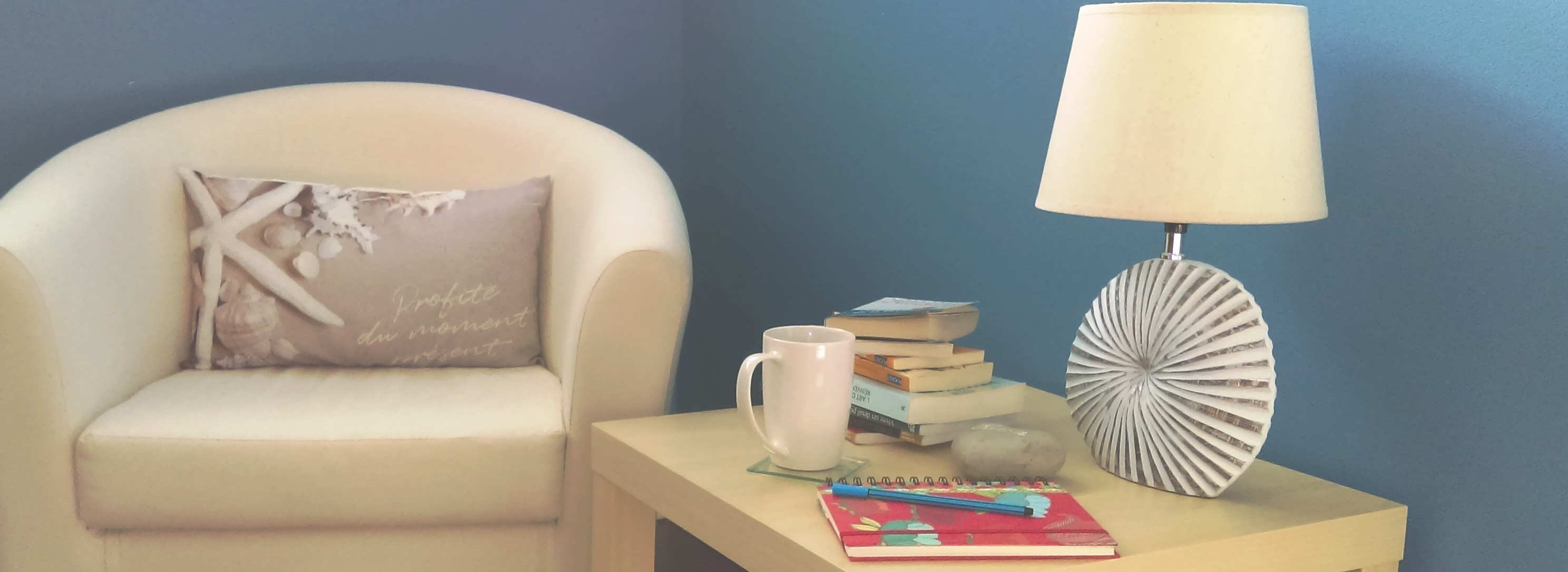 Table basse + livres